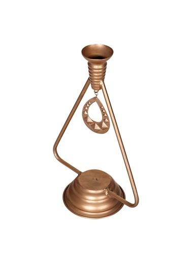 Vitale Vitale Rusty Çan Modeli Mumluk 13X36 Cm Ak.Gn0007 Altın